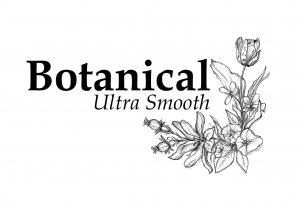 Botanical Ultra Smooth, watercoulor, pencil